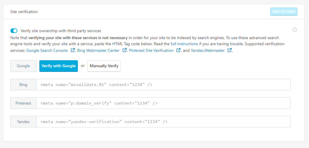 How to Use Site Verification in Jetpack | InMotion Hosting